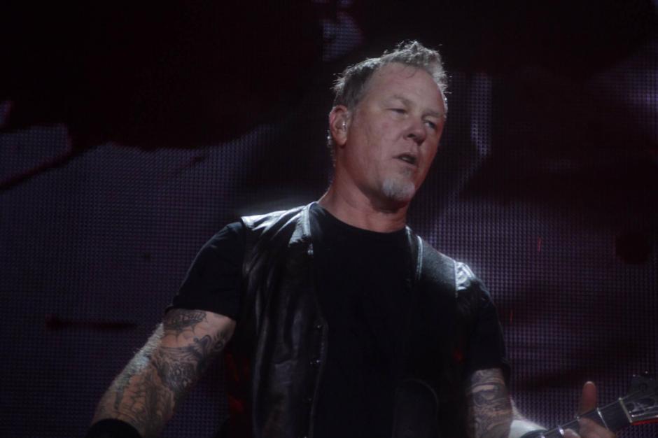 James Hetfield dio lo mejor en el escenario. (Foto: Fredy Hernández/Soy502)