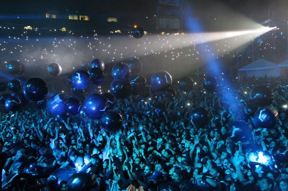 18 temas interpretó la banda en su concierto en el país. (Foto: Metallica)