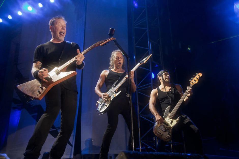 Los estadounidenses dieron un concierto en Guatemala el pasado 3 de noviembre. (Foto: Metallica)