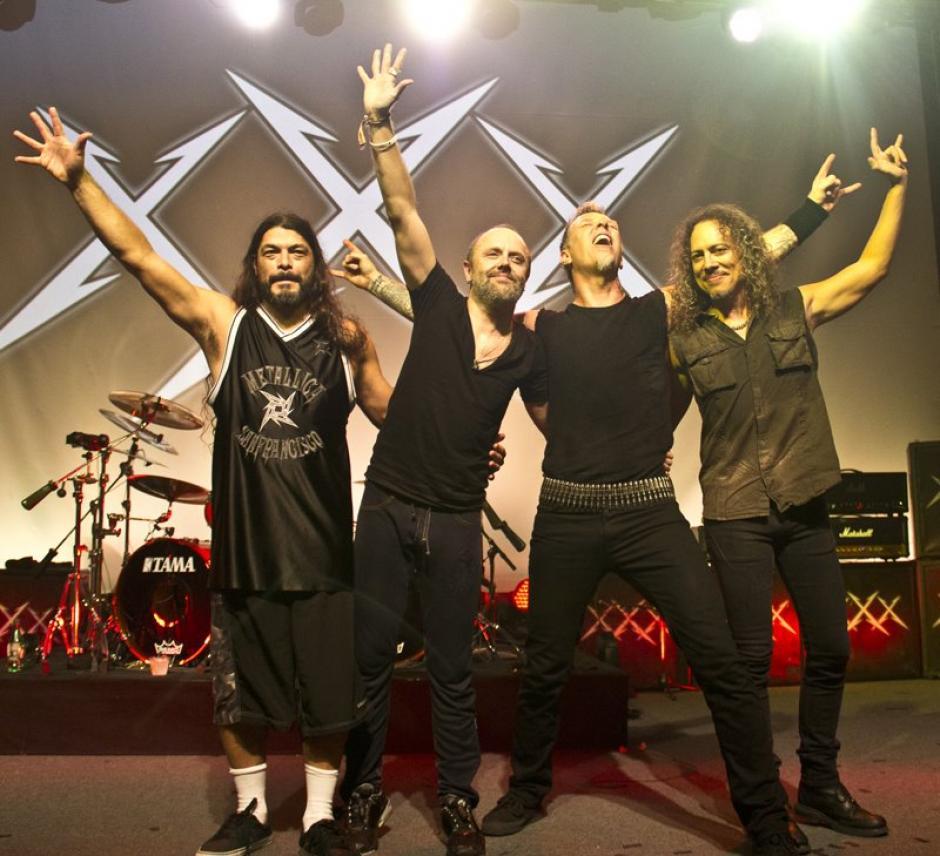 James Hatfield, Lars Ulrich, Kirk Hammett y Robert Trujillo harán vibrar el estadio Cementos Progreso. (Foto: Facebook/Metallica)