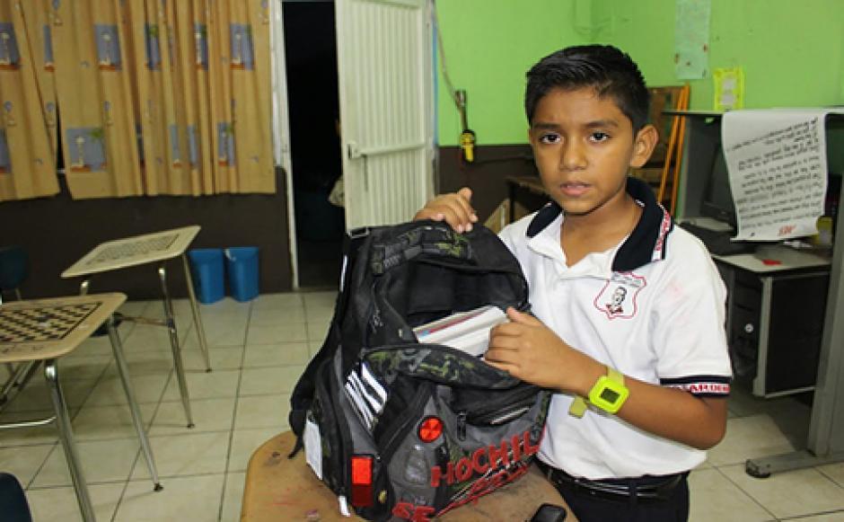 Juan David Hernández está preocupado por la seguridad en las escuelas de su ciudad. (Foto: Metronoticias)