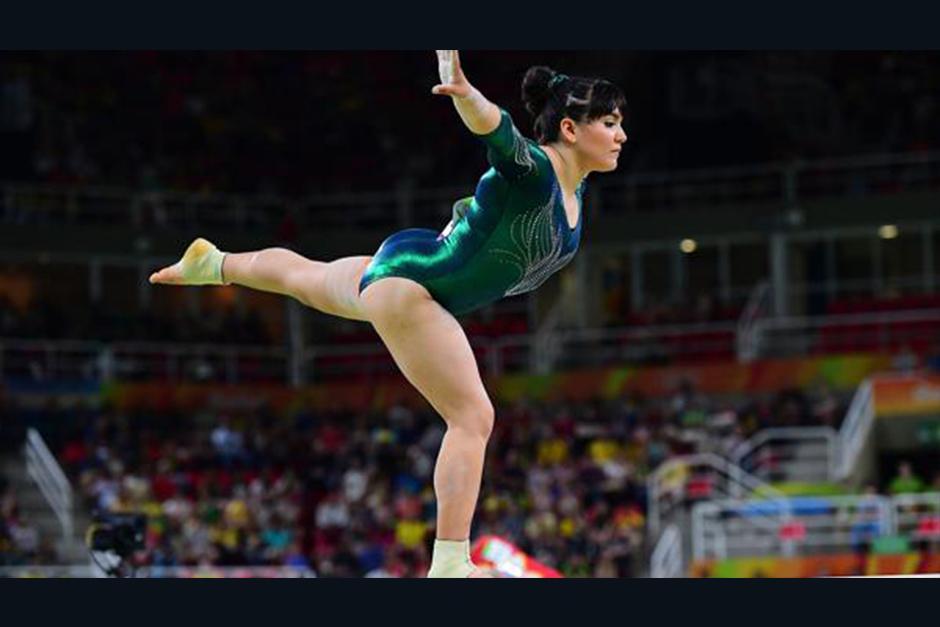 La atleta mexicana fue blanco de burlas. (Foto: AFP)