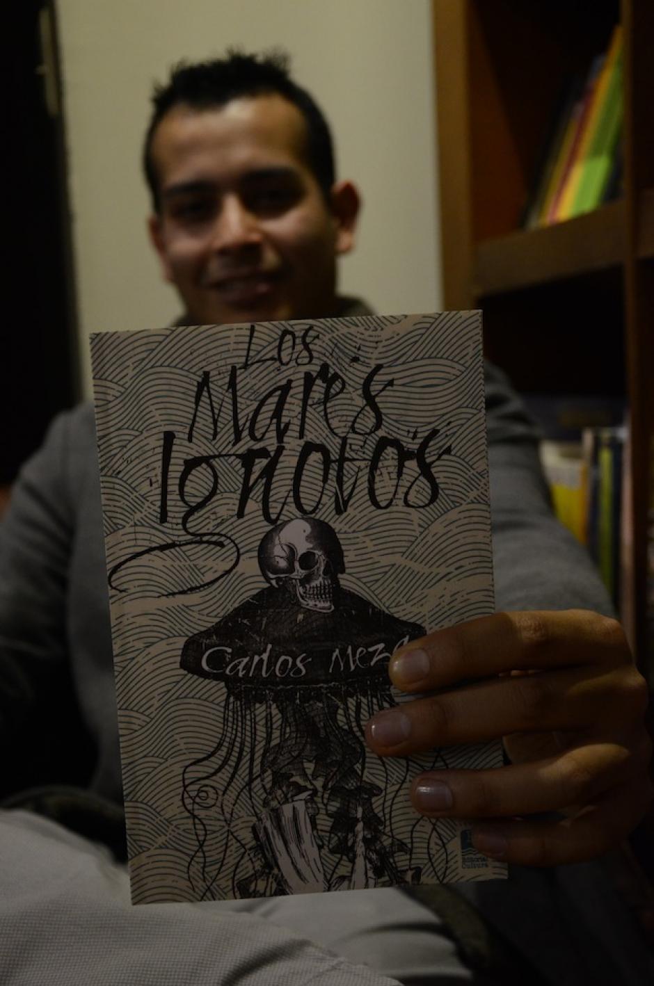 """""""Los Mares Ignotos"""" es publicado por Editorial Cultura. (Foto: Selene Mejía/Soy502)"""