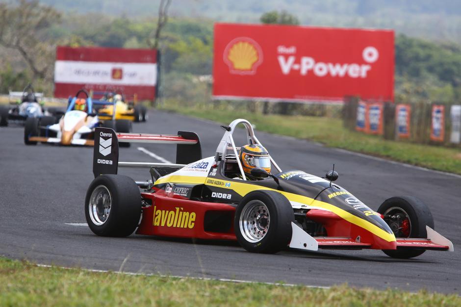 """George Hazbun fue el ganador de la categoría """"Fórmula Mazda"""". (Foto: Gabriel López)"""