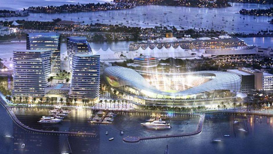 Beckham planea contruir su estadio en el Puerto de Miami