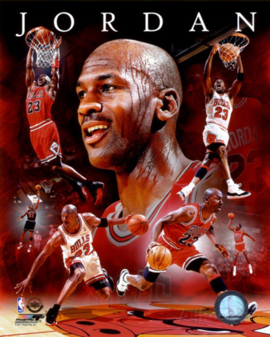 Michael Jordan es uno de los máximos representantes del deporte, la pasión y la entrega a nivel mundial.