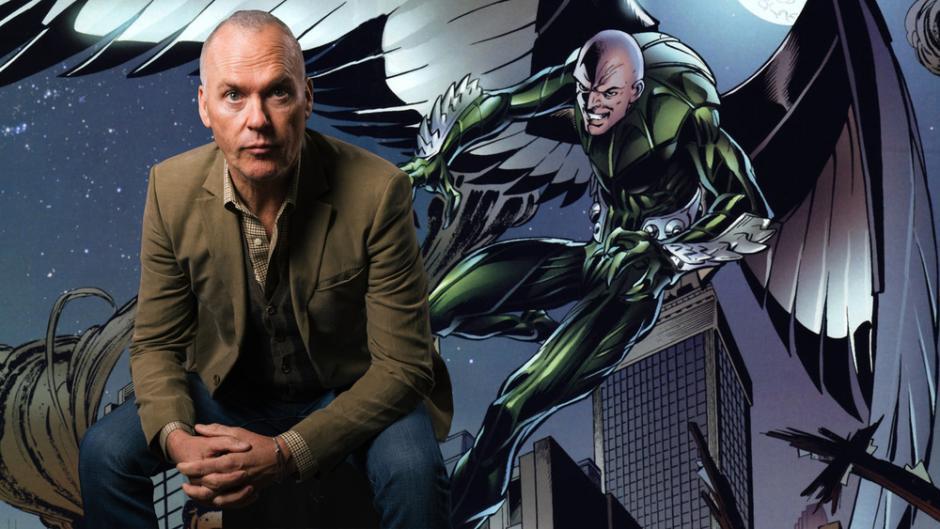 Michael Keaton interpretará a Vulture. (Foto: Tomatazos)