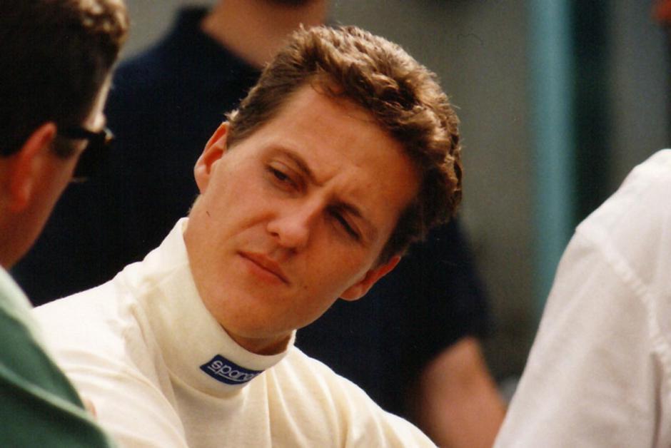 El alemán Michael Schumacher mostró desde muy joven su gran calidad como piloto. (AFP)