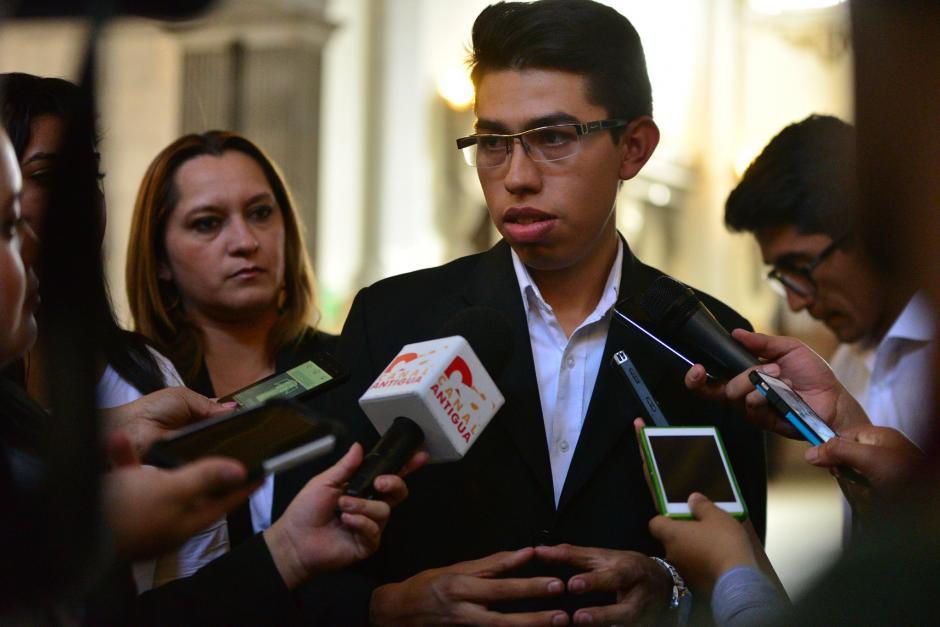 La orden judicial para destituir a Michael Vásquez quedó firme. (Foto: Archivo/Soy502)