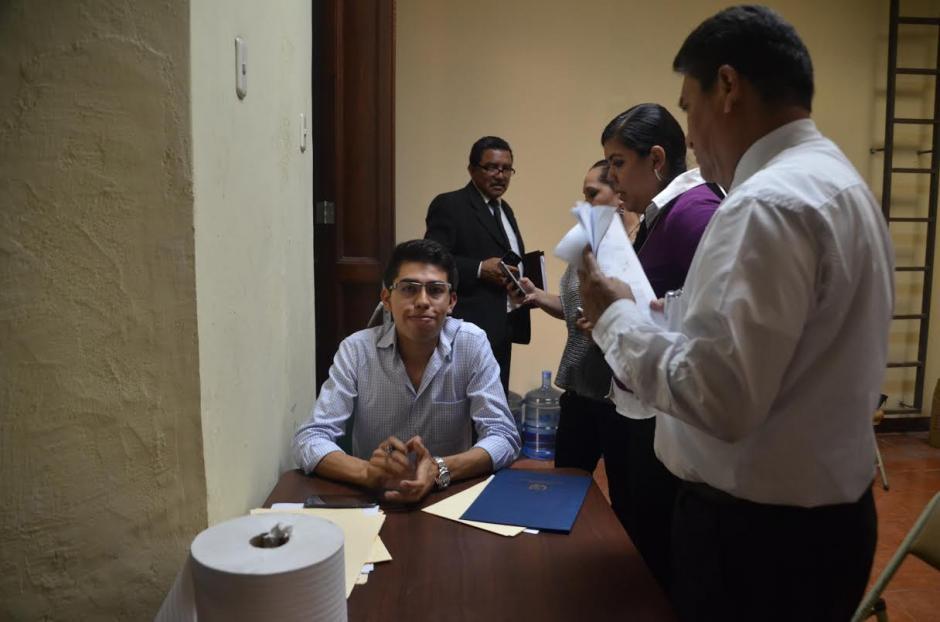 El joven sindicalista no ha iniciado el proceso para que el Congreso le pague sus prestaciones laborales. (Foto: cortesía José Castro)