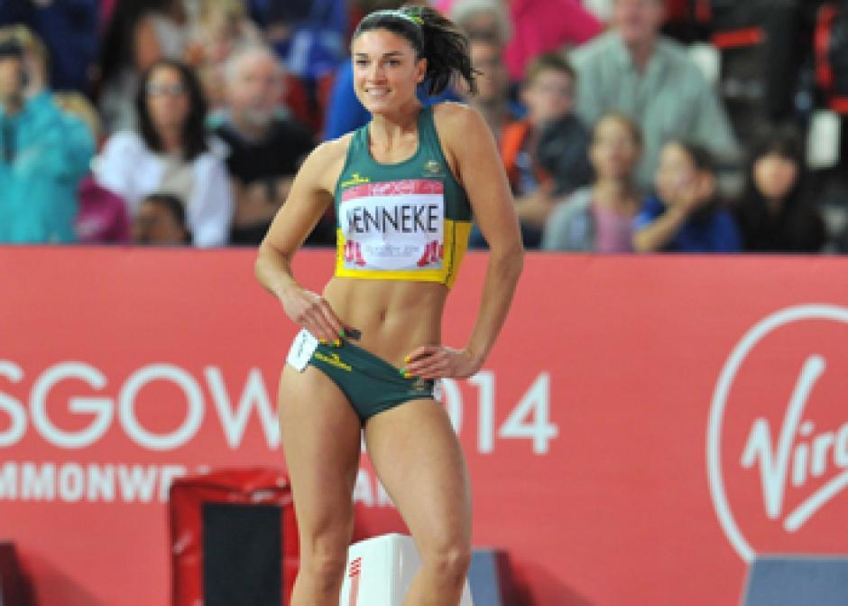 La australiana, Michelle Jenneke, robará suspiros en Río 2016. (Foto: Instagram)