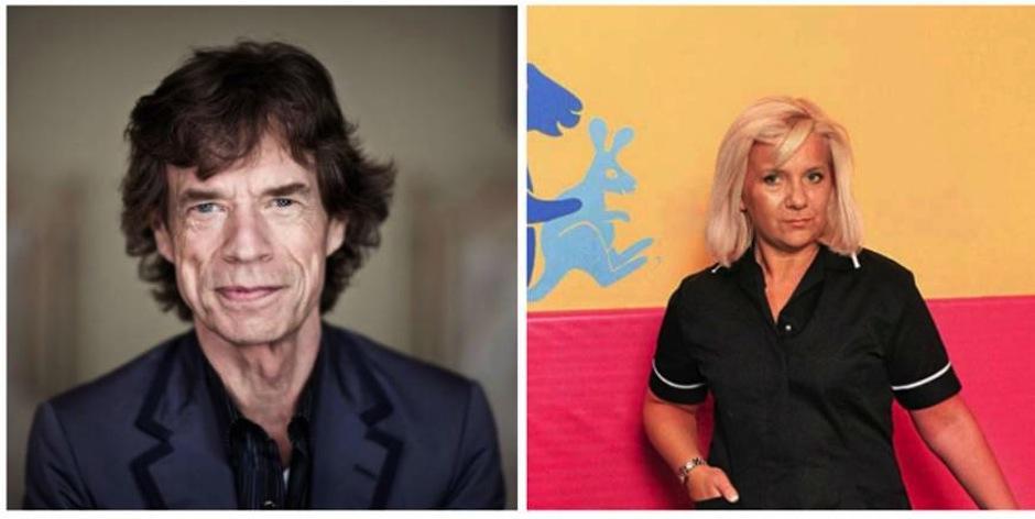 La niñera Claire Houseman tuvo un apasionado momento con Mick Jagger en el desayunador, cuando ella trabajaba para él y su esposa Jerry Hall. (Foto: Ranker)
