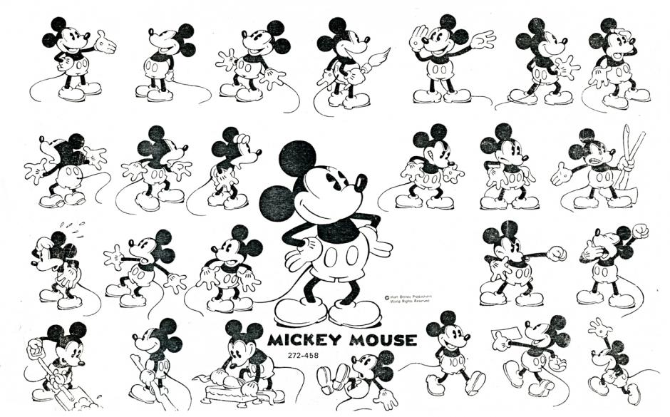 Mickey Mouse es el ratón más famoso del mundo. (Foto: hablemosdedisney2)