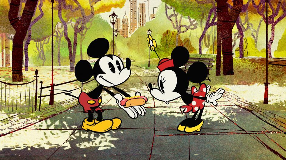 """Las primeras palabras de Mickey fueron: """"¡Hot dogs!"""". (Foto: heyuguys)"""