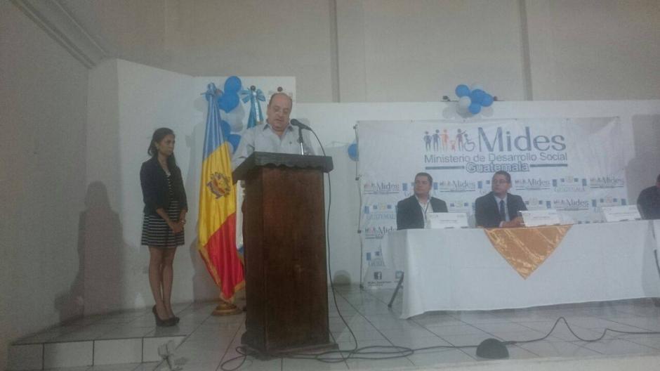 El ministro de Desarrollo Social, José Moreno, expresó que se busca promover el desarrollo económico y social del país. (Foto: Facebook, Mides)