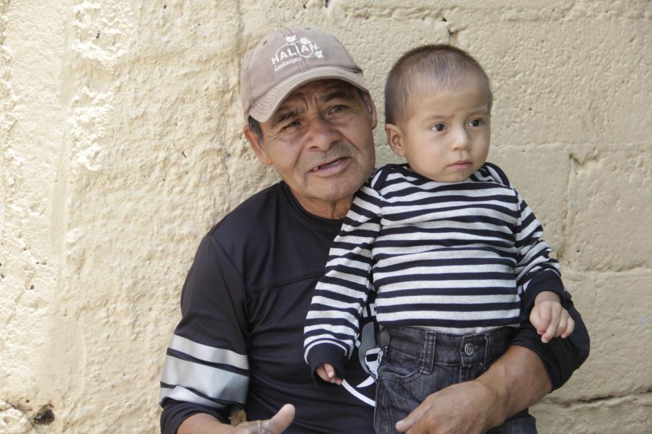 Su nieto ha sido un pilar importante para esforzarse y luchar en la vida. (Foto: Fredy Hernández/Soy502)