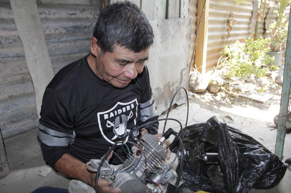 Al lograr ensamblar todas las partes, don Miguel Ángel logrará romper nuevas barreras. (Foto: Fredy Hernández/Soy502)
