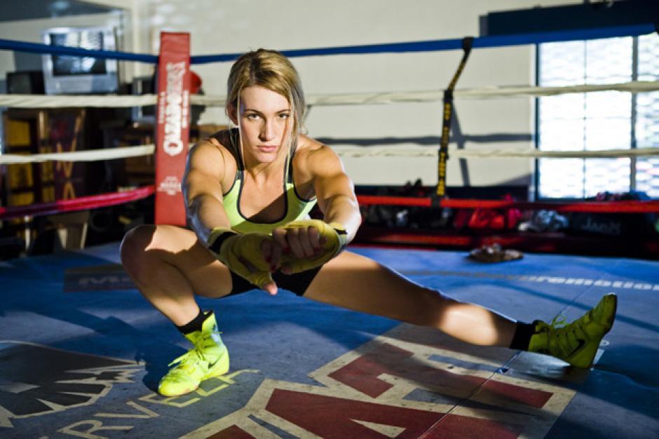 La boxeadora, Mikael Mayer es una de las bellezas en los olímpicos. (Foto: Twitter)