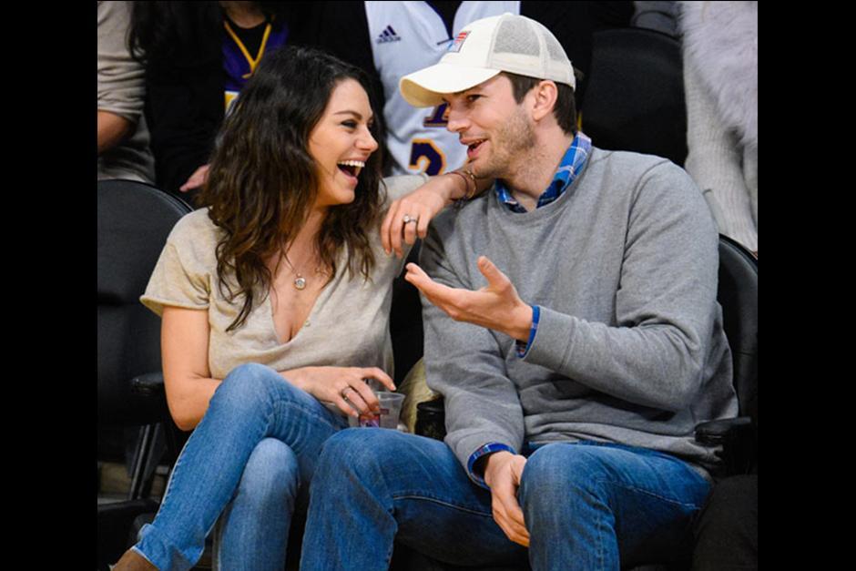Ashton estuvo casado con Demi Moore y Mila en una relación estable con Macaulay Culkin. (Foto: Archivo)
