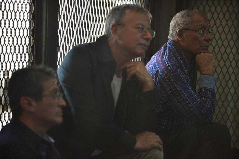 En la carceleta del juzgado de mayor riesgo se desarrolla la audiencia del caso conocido como Creompaz. (Foto: Wilder López/Soy502)
