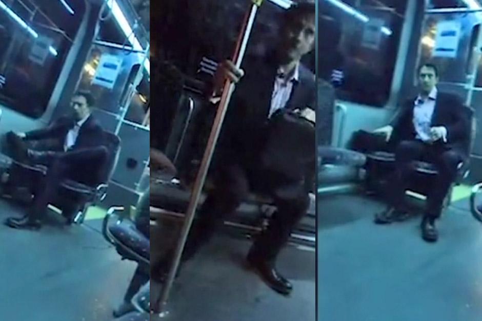 Un hombre que supuestamente era millonario insultó al piloto de un bus público. (Foto: dailymail.co.uk)