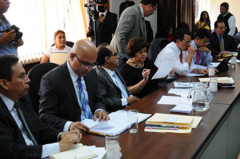 El ministro de Educación asistió a la bancada MR. (Foto: Alejandro Balán/Soy502)
