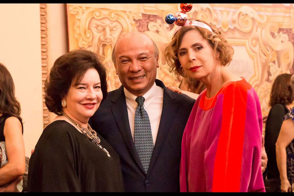 El evento fue del Ministro de Cultura con amigos y familiares. (Foto: Ágatha Ruiz de la Prada)