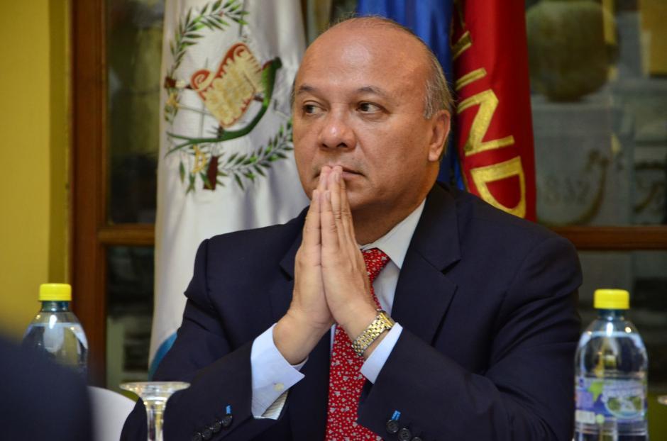 El ministro de Cultura y Deportes, José Luis Chea, ha llegado diez veces a la Casa Presidencial. (Foto: Archivo/Soy502)