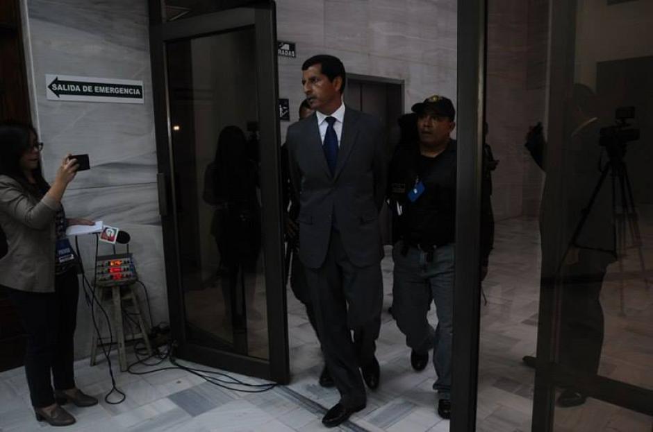 El exministro de la Defensa, Manuel López Ambrosio, está implicado en el caso La Cooperacha. (Foto: Alejandro Balan/Soy502)