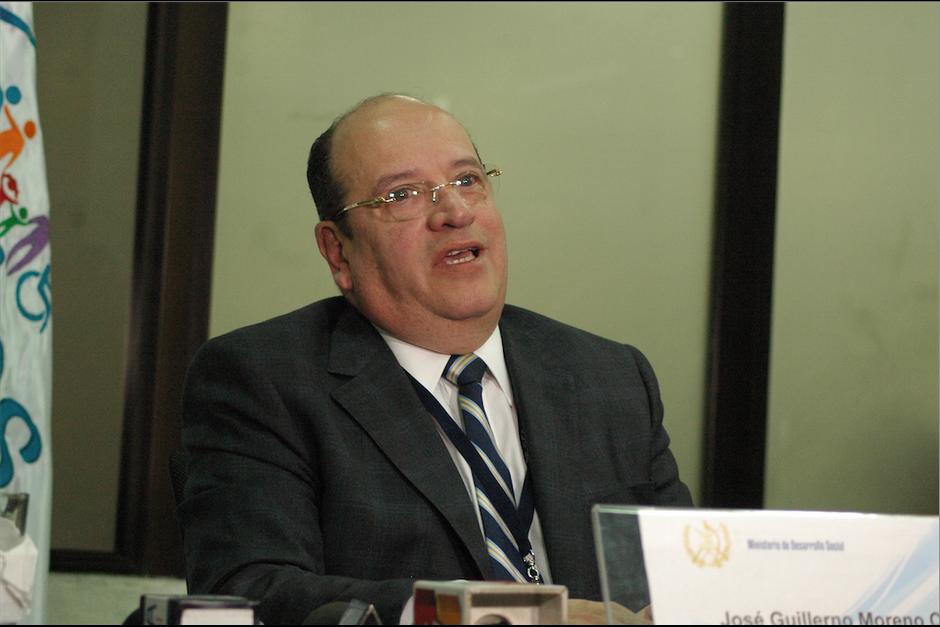 José Guillermo Moreno, ministro de Desarrollo Social, es uno de los jefes de cartera que menos se ha reunido con el presidente. (Foto: Archivo/Soy502)