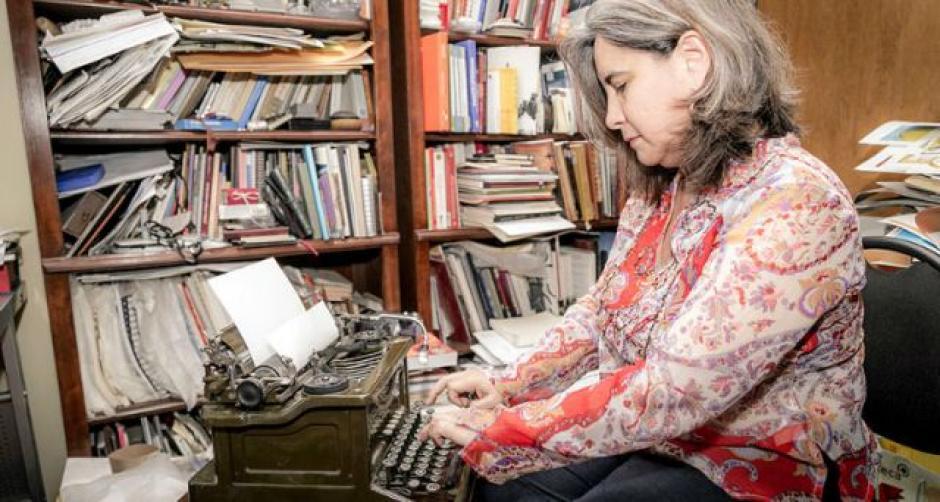 Miraceti Jiménez de México comparte su poesía. (Foto: laculturaenpuebla.org)