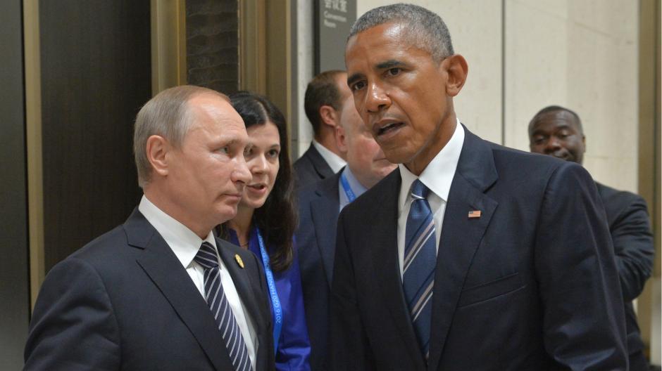 Obama y Putin se reunieron en la cumbre del G-20. (Foto: www.infobae.com)