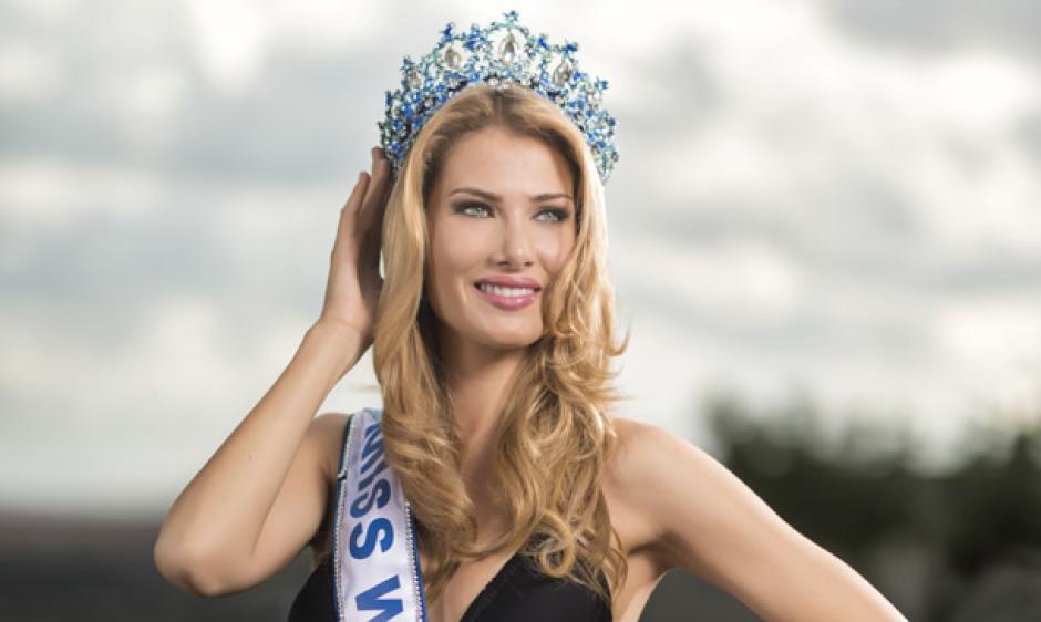 La catalana Mireia Lalaguna se hizo con la corona mundial. (Foto: Hola)