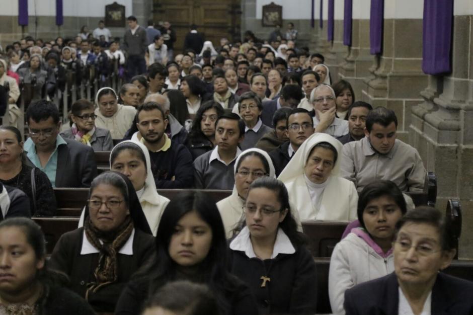 Así se veía Catedral Metropolitana. (Foto: Alejandro Balan/Soy502)