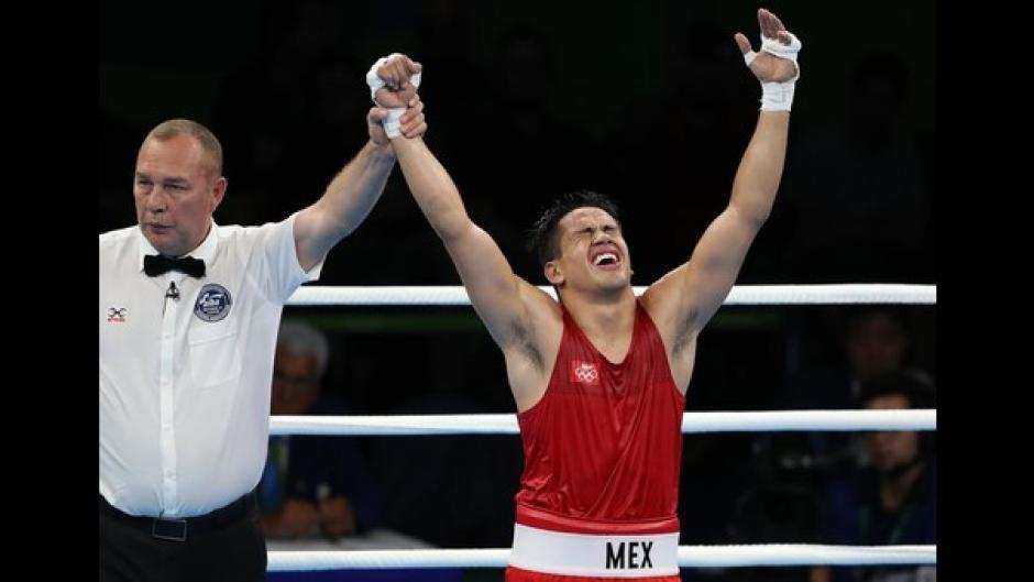 Con su triunfo, Misael Rodríguez aseguró al pase a semifinales y la primera medalla olímpica para México. (Foto: capital.com.pe)