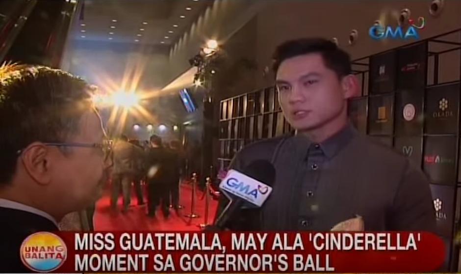 Minutos después un actor filipino muy famoso, Ervic Vijandre, lo encontró. (Foto: captura de pantalla)