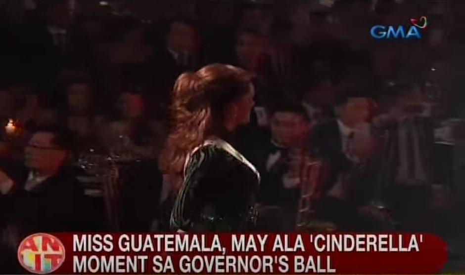 "Ahora llaman a Virginia ""MIss Cenicienta Universo"". (Foto: captura de pantalla)"