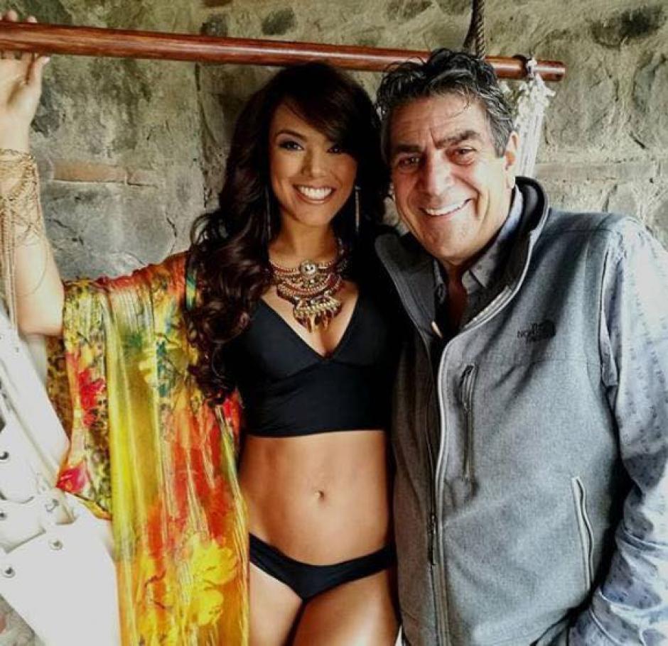 Su última sesión de fotos en el país fue realizada por Ricky López. (Foto: Miss Universe Guatemala)