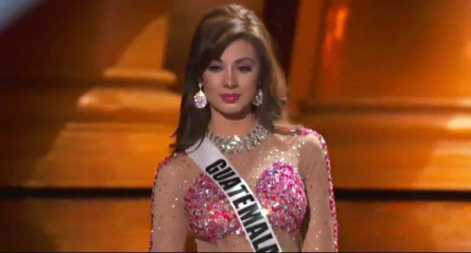 Miss Guatemala se luce en Miss Universo. (Foto: Miss Guatemala)