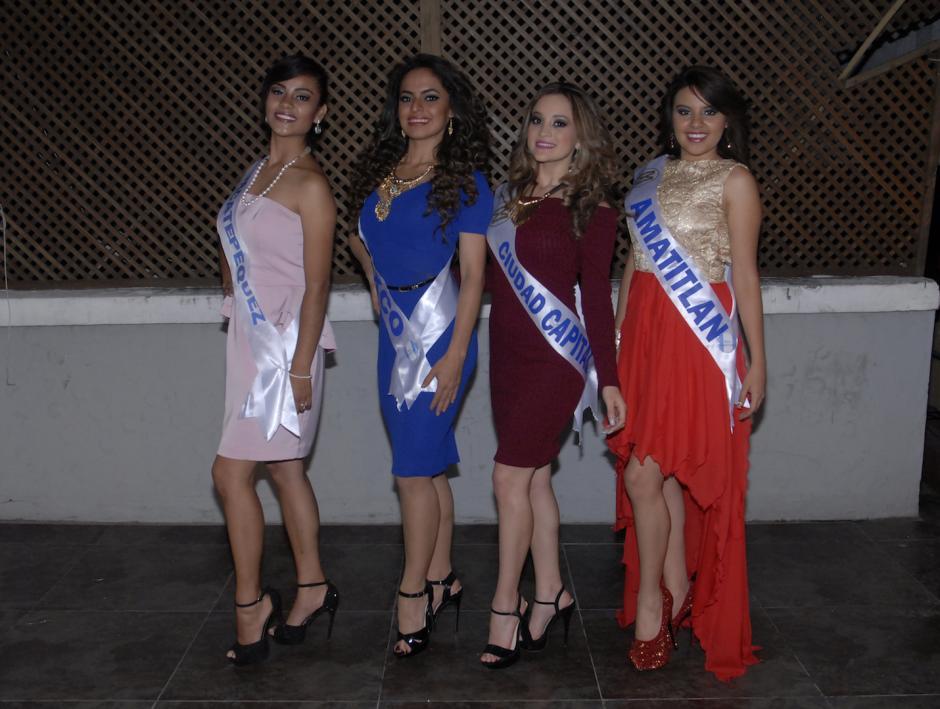 En total, son 13 las representantes de la belleza guatemalteca que buscan llevarse la corona. (Foto: Luis Castillo/Nuestro Diario)