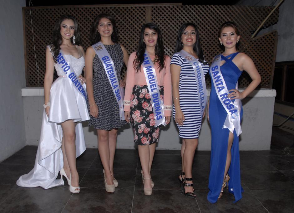 Las bellas aspirantes esperan obtener el mejor resultado en la competencia. (Foto: Luis Castillo/Nuestro Diario)