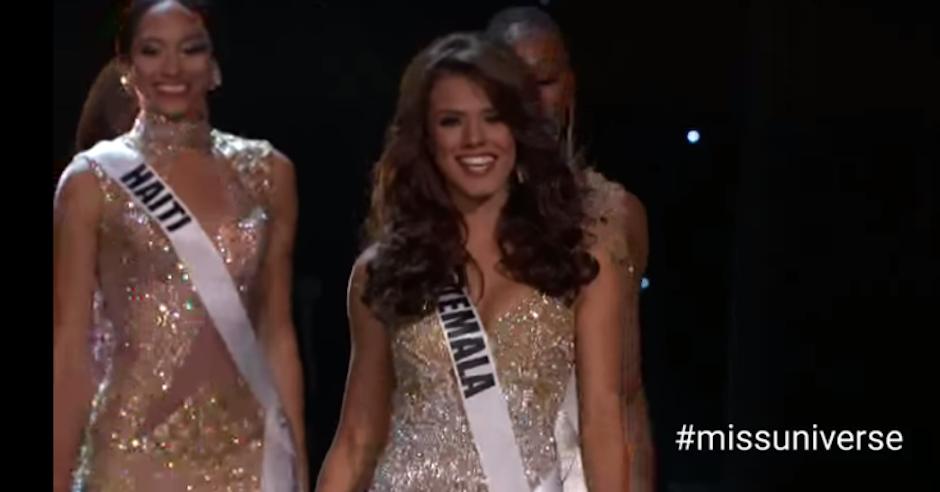 La transmisión de Miss Universo se pudo ver en Guatemala a las 5 de la mañana. (Foto: captura de pantalla)