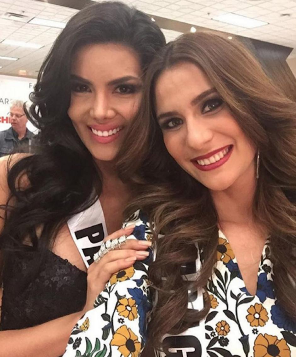 Los lazos de amistad empiezan a extenderse. (Foto: Miss Universo latinas)