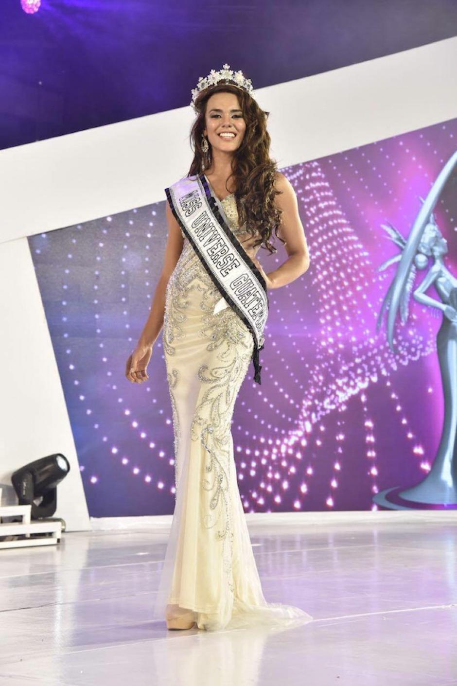 Virginia mostró su elegancia y actitud durante el certamen. (Foto: Abner Salguero/Nuestro Diario)