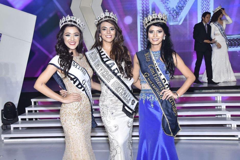 Las tres hermosas representantes de nuestra belleza robaron suspiros. (Foto: Abner Salguero/Nuestro Diario)