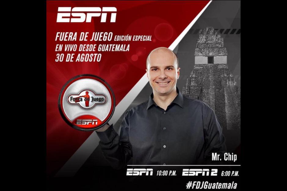 """El programa """"Fuera de Juego"""" se transmitirá el martes 30 de agosto. (Foto: Archivo)"""