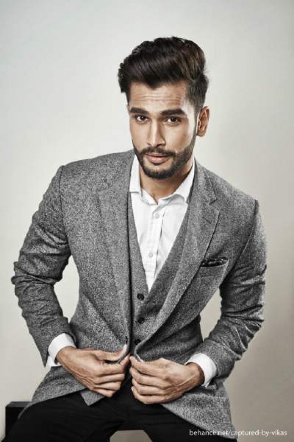 Rohit también tiene una carrera como modelo y actor. (Foto: pinterest)