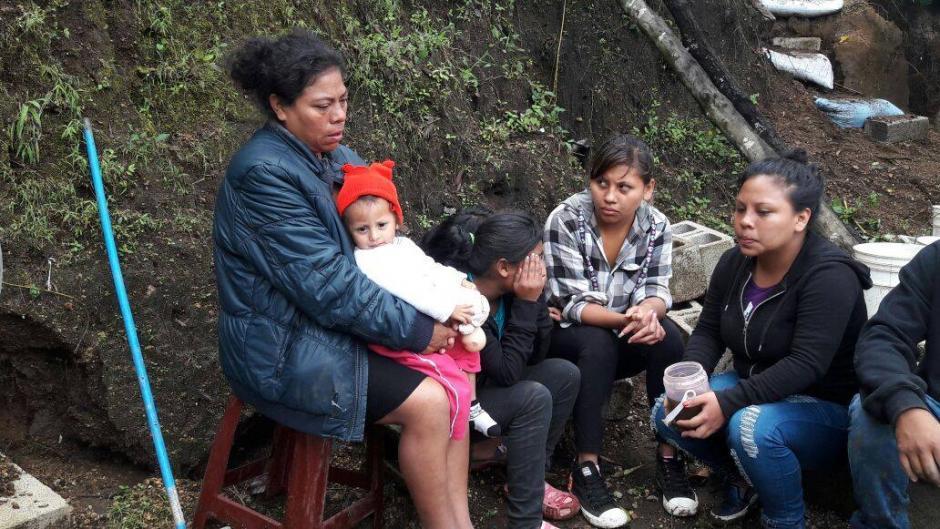 Entre los afectados hay 16 niños y 13 mujeres. (Foto: Municipalidad de Mixco)