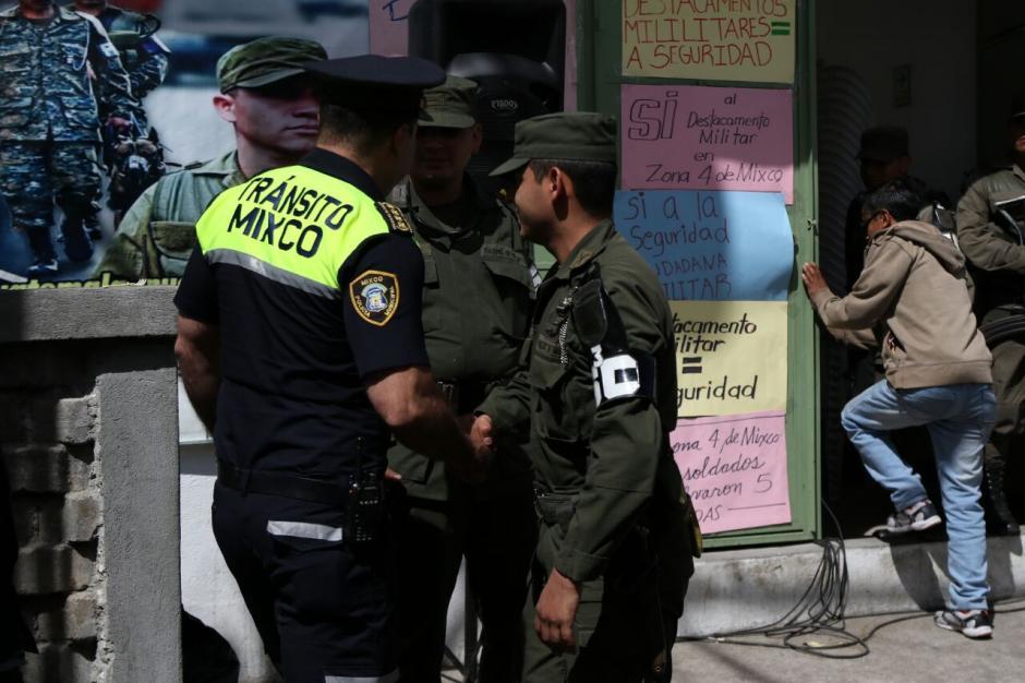 La seguridad del municipio es una prioridad para los ciudadanos. (Foto: Alejandro Balan/Soy502)