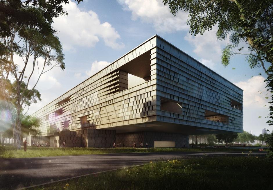 """El museo formará parte del proyecto urbanístico """"Parque Metropolitano La Aurora"""". (Foto: Fundación Museo Maya de América)"""